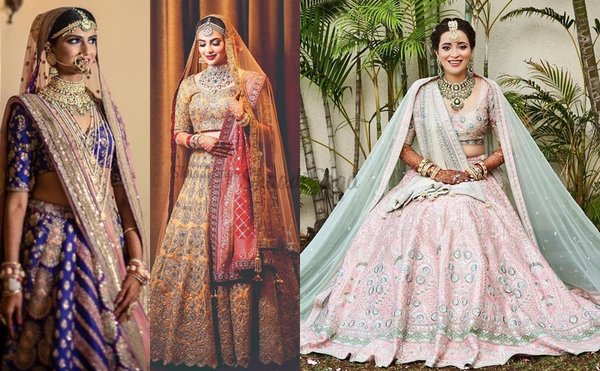 21 Lehenga Color Combinations for Brides that are Going to Rule The Wedding Season