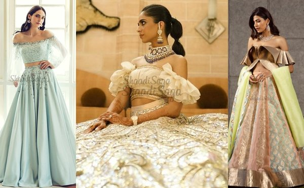 Trendy Off-Shoulder Outfits For Brides To Try Out This Wedding Season!