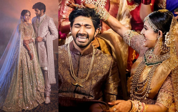 Niharika Konidela Ties The Knot With Chaitanya JV In A Stunning Celebration At Udaivilas