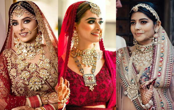 17 Elaborate Jewellery Designs We Spotted On Brides In 2020