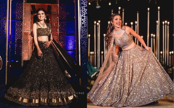 75+ Beautiful Lehengas We Spotted For Your Sangeet Night!