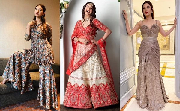 Best Bridal Outfit Inspiration To Bookmark From Newly-Married Gauahar Khan!