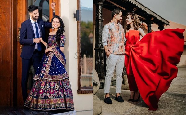 Top 61 Pre-Wedding Shoot Outfit Ideas - Gowns To Lehengas & More!