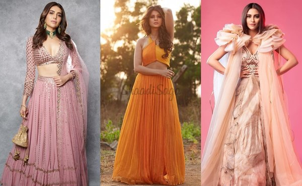 Best Bridal Outfits to Bookmark From TV Celebrities