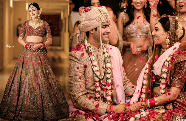 A Royal Jaipur Wedding Where The Bride & Groom Slayed In Their Outfit Ensembles