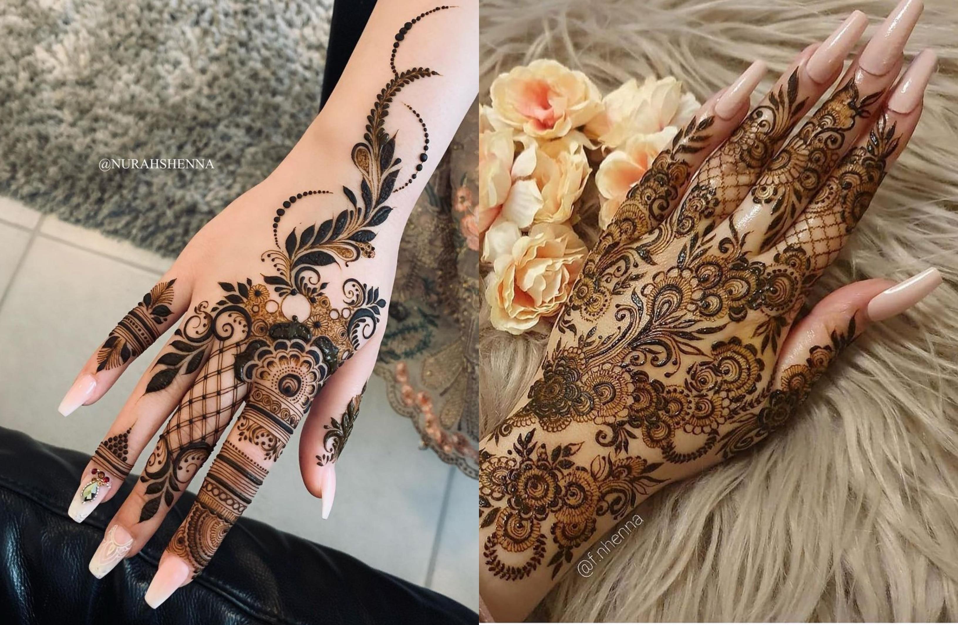 15+ Intricate Floral Mehendi Designs We're Gushing Over!   ShaadiSaga