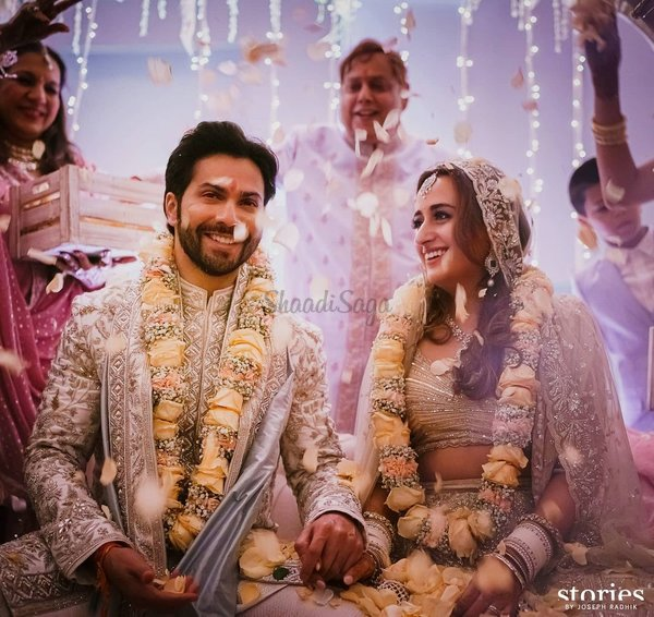 Varun Dhawan Ties The Knot With Childhood Sweetheart Natasha Dalal In A Gorgeous Ceremony At The Mansion House!