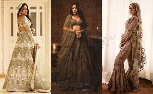 Best Traditional Bridal Outfit Looks By Sara Gurpal To Bookmark For Your D-day!