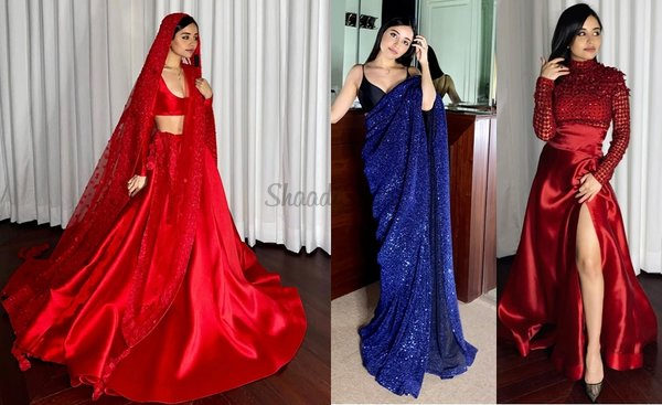 29 Handpicked Bridal Outfits From Designer Sunaina Khera!