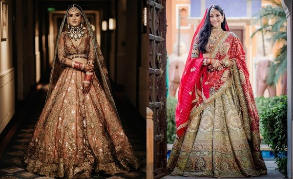 32 Earthy Toned Lehenga Designs That We Are Simply Drooling Over!