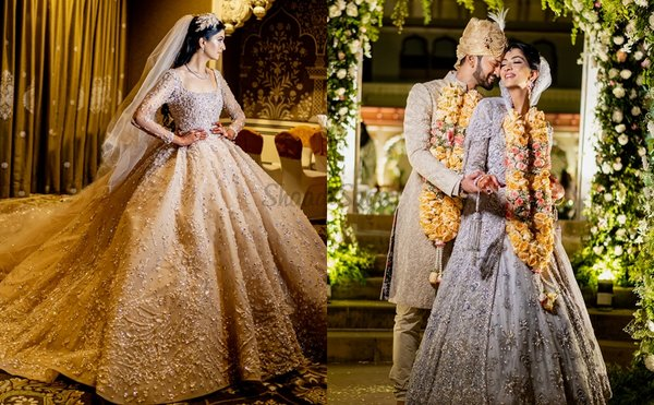This Fashion Blogger is India's First Bride to Wear a Custom Haute Couture Bridal Outfit By Elie Saab