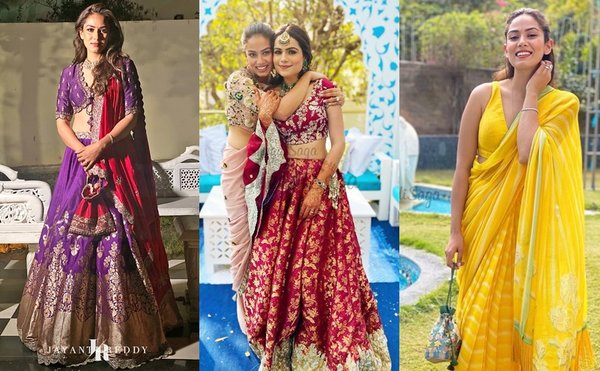 We're Drooling Over Mira Rajput's Bridesmaid Look At Her BFF'S Wedding!