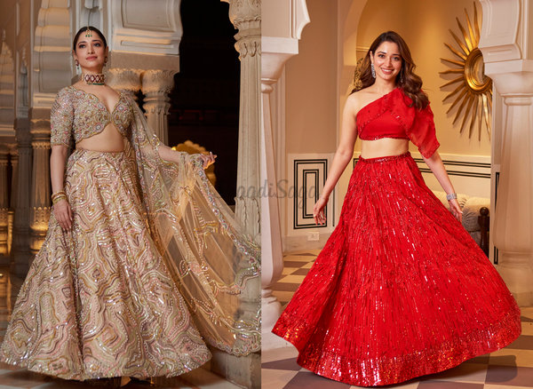 Tamannaah Bhatia Served Major Bridesmaids Goals At Hanna Khan's Wedding!