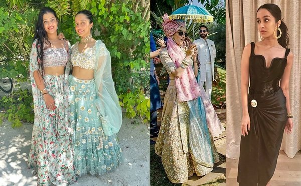Shraddha Kapoor's Wardrobe at Cousin's Wedding is #OutfitGoals!