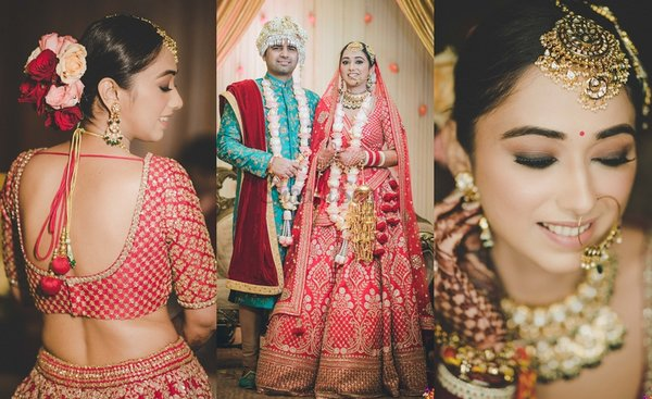 A Lavish Delhi Wedding with Oodles of Wedding Outfit Inspiration
