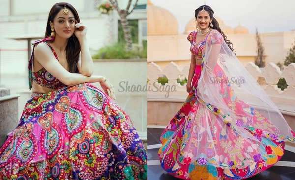 Prettiest Bridal Outfits That Remind Us of The Holi Festival!