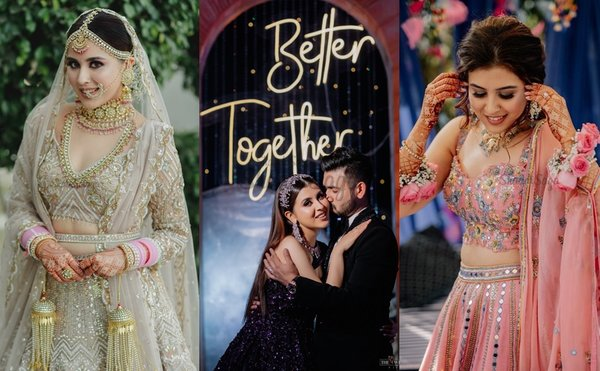An Intimate yet Glam Delhi Wedding of a Founder with a State-level Cricketer!