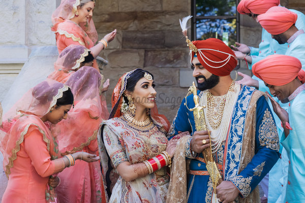 A Royal Sikh Wedding Affair In Australia That Will Take Your Breath Away!