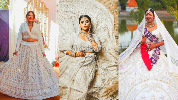 Pristine White Lehengas To Bookmark If You're Tying The Knot in 2021