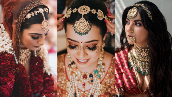 20+ Trending & Latest Sheeshpatti Designs Worn By Real Brides